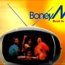 Discos de vinilo: MAXI BONEY M. ; BEST IN SPAIN ( MEGA MIX ) . Lote 50485172