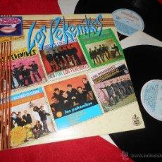 Discos de vinilo: LOS PEKENIKES LA DECADA PRODIGIOSA 2LP 1986 HISPAVOX GATEFOLD EXCELENTE ESTADO. Lote 50492540