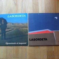Discos de vinilo: LABORDETA LOTE 2 LPS. Lote 50492633