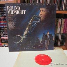 Discos de vinilo: ROUND MIDNIGHT - HERBIE HANCOCK - CHET BAKER - RON CARTER - JAZZ -LP - [EX/VG++]. Lote 50497074