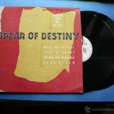 Discos de vinilo: SPEAR OF DESTINITY NEVER TAKE ME FIVE DOBLE MAXI UK 1987 GATEFOLD PDELUXE. Lote 50498464