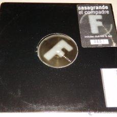 Discos de vinilo: CASAGRANDE EL COMPADRE FLUENTIAL INCLUDES CLUB MIX EP MAXI SINGLE VINILO DISCO DANCE BB. Lote 294064203