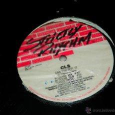 Discos de vinilo: CLS C.L.S. CAN YOU FEEL IT BLIZZARD MIX STRICTLY RHYTHM MAXI SINGLE VINILO DISCO DANCE HOUSE BB. Lote 50500333