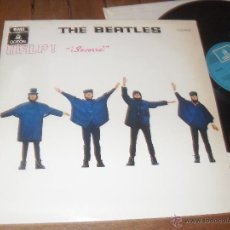 Discos de vinilo: THE BEATLES. LP. HELP. SOCORRO. ODEON. MADE IN SPAIN. 1965. MATRIX 064 04257.. Lote 50501468