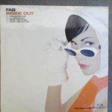 Discos de vinilo: FAB INSIDE OUT -. Lote 50502704