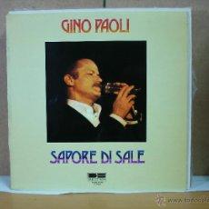 Discos de vinilo: GINO PAOLI - SAPORE DI SALE - BELTER 2-47052 - 1980. Lote 50504161