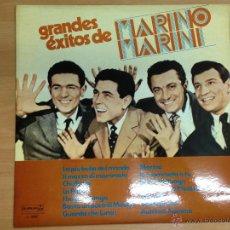 Discos de vinilo: LP GRANDES EXITOS DE MARINO MARINI EDITADO EN ESPAÑA 1978. Lote 50506382