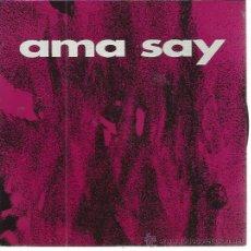 Discos de vinilo: AMA SAY SG ESAN OZENKI 1993 PROMO ATERIPEAN/ GAUA EH SUKARRA ANESTESIA CANCER MOON . Lote 50508542