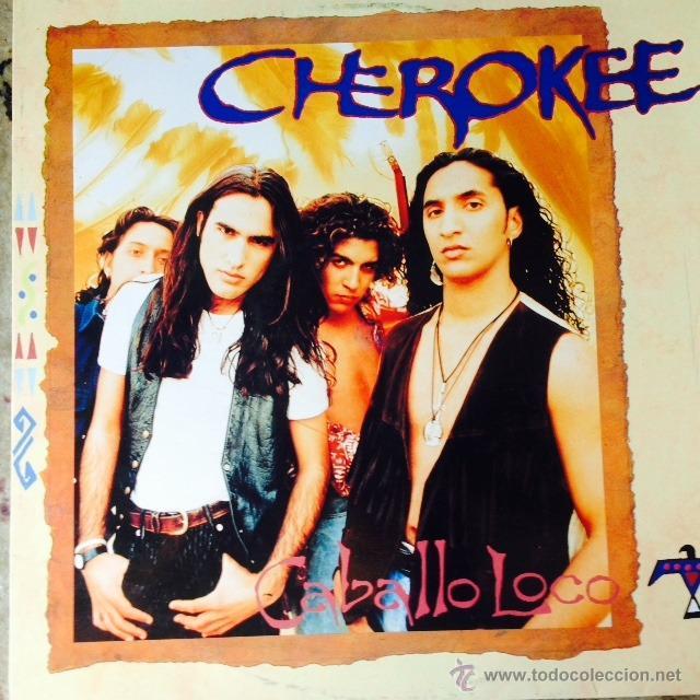 CHEROKEE - CABALLO LOCO . MAXI SINGLE . 1994 EPIC (Música - Discos de Vinilo - Maxi Singles - Grupos Españoles de los 90 a la actualidad)