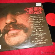 Discos de vinilo: THE BIG THE BAD AND THE LONELY LP 1971 MUSIC FOR PLEASURE EDICION INGLESA ENGLAND UK WESTERN. Lote 50510626