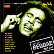 Discos de vinilo: COLECCIÓN REGGAE CUAL ES?-BOB MARLEY + PETER TOSH + YELLOWMAN + BLACK UHURU + DILLINGER... CD ALBUM . Lote 50514333