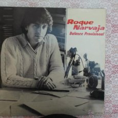 Discos de vinilo: ROQUE NARVAJA - BALANCE PROVISIONAL LP PROMOCIONAL MOVIE PLAY 1982. Lote 50516349