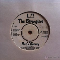 Discos de vinilo: SINGLE THE STRANGLERS-NICE N SLEAZY. Lote 50516477