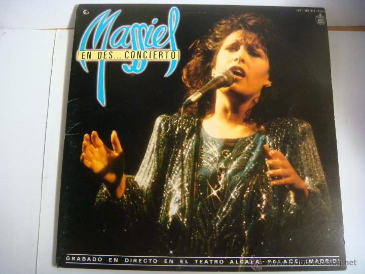 VINILO 2 L.P DE MASSIEL--EN DES...CONCIERTO (Música - Discos - LP Vinilo - Solistas Españoles de los 70 a la actualidad)