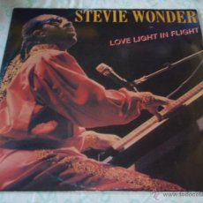 Discos de vinilo: STEVIE WONDER ( LOVE LIGHT IN FLIGHT - IT'S MORE THAN YOU ) 1984 - ENGLAND MAXI45 MOTOWN RECOR. Lote 50519347