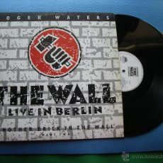 Discos de vinilo: ROGER WATERS THE WALL - LIVE IN BERLIN MAXI HOLANDA 1990 PDELUXE. Lote 50525105