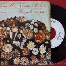 Discos de vinilo: MARIA DEL MAR BONET - AL TALL, HAVANERA + EL SEGADOR MES PETIT (ARIOLA 1982) SINGLE PROMOCIONAL. Lote 230651490