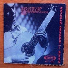 Discos de vinilo: ANTONIO ARENAS - 1966. Lote 50533886