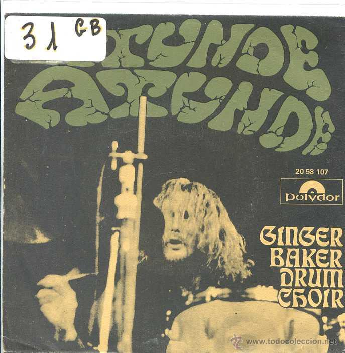 Discos de vinilo: GINGER BAKER DRUM CHOIR / ATUNDE PARTE I Y II (SINGLE 1971) - Foto 1 - 50536212