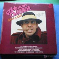 Discos de vinilo: ADRIANO CELENTANO ROCK&ROLL EDICION ESPAÑOLA 1981. Lote 50536495