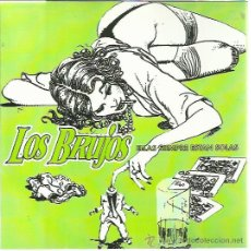 Discos de vinilo: LOS BRUJOS + SHOCK TREATMENT SG NO TOMORROW 1994 ELLAS SIEMPRE ESTAN SOLAS +1 AUTENTICOS VILLANUEVA. Lote 50542143
