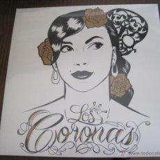 Discos de vinilo: LOS CORONAS - ADIÓS SANCHO - LP SONY 2013 NUEVO. Lote 50543590