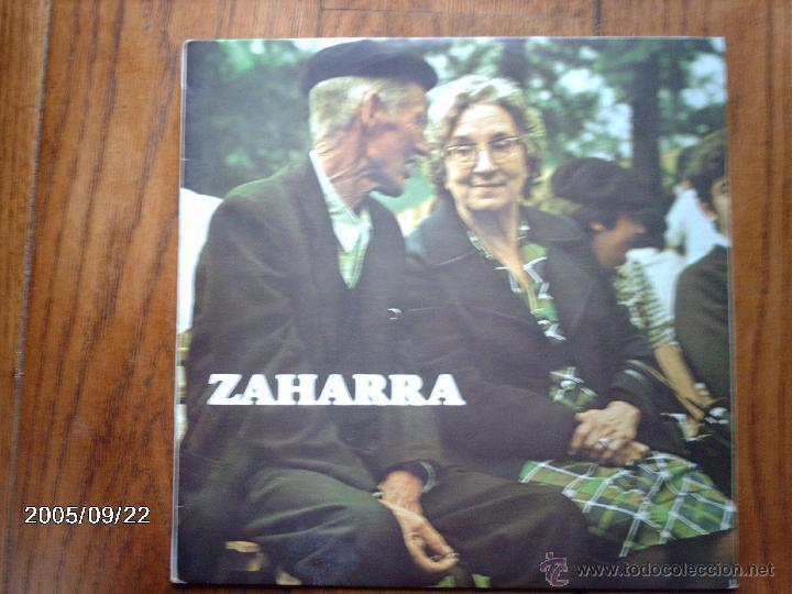 ZAHARRA - ZUMARRAGAKO TRIKITIXA - INCANSABLES - LARRAGAKO JOTEROAK - FASIO ETA MAURIZIA ... (Música - Discos - LP Vinilo - Étnicas y Músicas del Mundo)
