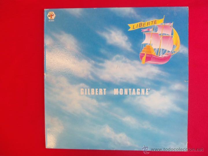 GILBERT MONTAGNE - LIBERTÉ (Música - Discos - LP Vinilo - Electrónica, Avantgarde y Experimental)