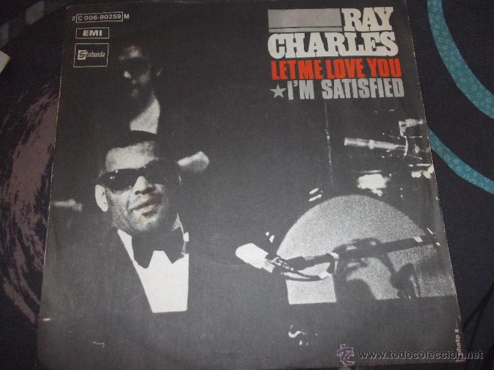 Image result for let me love you ray charles single images