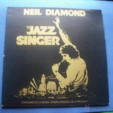 Disques de vinyle: NEIL DIAMOND - THE JAZZ SINGER - BSO - GATEFOLD - LP 1980 CON ENCARTE COMO NUEVO¡¡¡ PEPETO. Lote 50548627