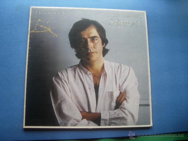 JOAN MANUEL SERRAT LP TAL COM RAJA 1980 ARIOLA SPA PORTADA DOBLE LETRA DE CANCIONES PEPETO (Música - Discos - LP Vinilo - Cantautores Españoles)