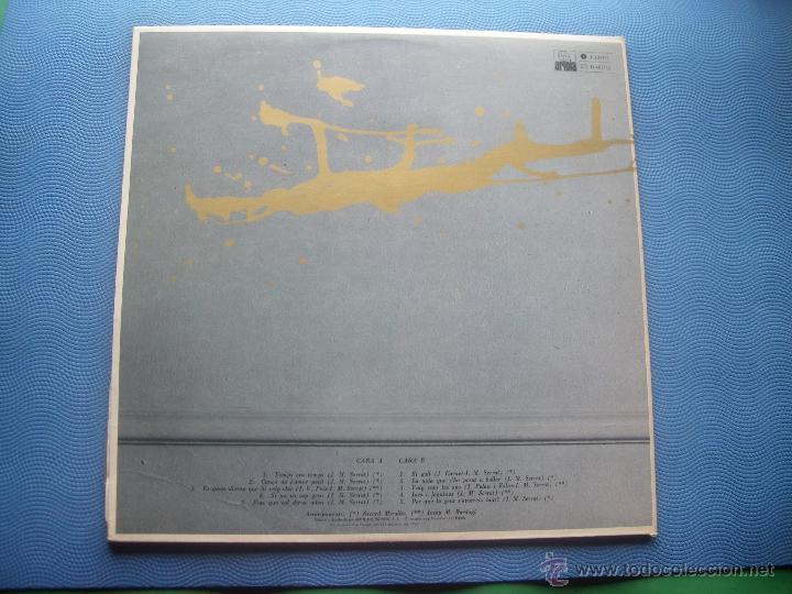 Discos de vinilo: JOAN MANUEL SERRAT LP TAL COM RAJA 1980 ARIOLA SPA PORTADA DOBLE LETRA DE CANCIONES PEPETO - Foto 3 - 50549205