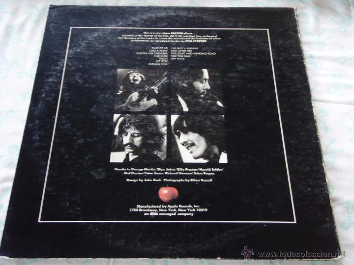 Discos de vinilo: The Beatles – Let It Be USA 1970 Apple Records - Foto 2 - 50549953