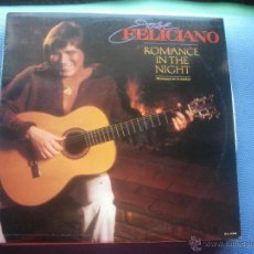 Discos de vinilo: LP - JOSE FELICIANO - ROMANCE IN THE NIGHT (SPAIN, MOTOWN RECORDS 1983) CON ENCARTES NUEVO¡¡. Lote 50554536