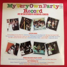 Discos de vinilo: MY VERY OWN PARTY RECORD - ST. WINIFRED'S SCHOOL CHOIR. Lote 50555920