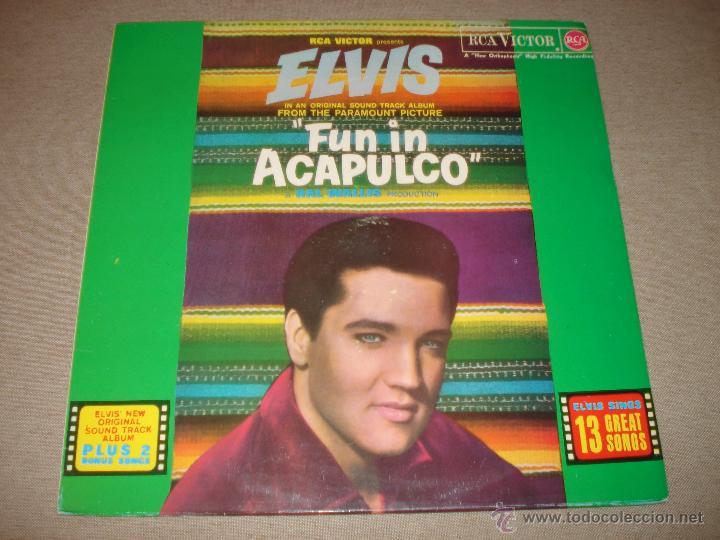 ELVIS PRESLEY - FUN IN ACAPULCO (SPAIN 1987) (Música - Discos - LP Vinilo - Bandas Sonoras y Música de Actores )
