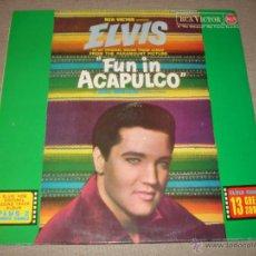 Discos de vinilo: ELVIS PRESLEY - FUN IN ACAPULCO (SPAIN 1987). Lote 50556496