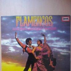 Discos de vinilo: FLAMENCOS- GRUPO FLAMENCO DE ANTONIO ARENAS- CAMARON DE LA ISLA- LP DIM 1968 EDICION ALEMANA. Lote 50557173