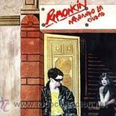 Discos de vinilo: RAMONCIN - ARAÑANDO LA CIUDADR ( LP + CD REEDICIÓN ) SPANISH 80S. Lote 50561686