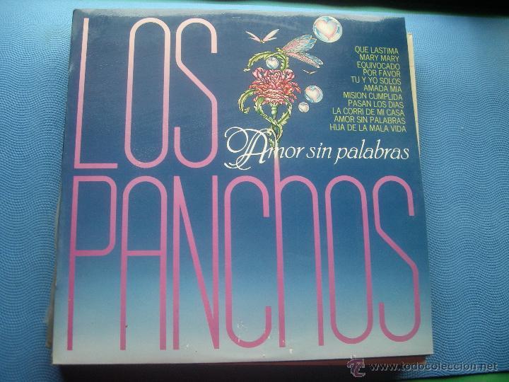 LOS PANCHOS AMOR SIN PALABRAS LP 1980 CBS SPAIN NUEVO¡¡¡¡ PEPETO (Música - Discos - LP Vinilo - Grupos y Solistas de latinoamérica)