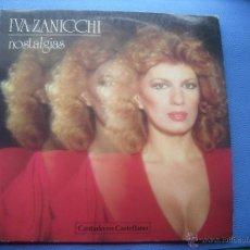 Discos de vinilo: LP- IVA ZANICCHI – NOSTALGIAS (BALLAD-POP) (EN CASTELLANO) PEPETO. Lote 50562083