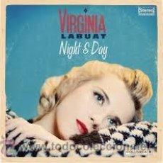 Discos de vinilo: VIRGINIA LABUAT - NIGHT & DAY ( LP 2013 ). Lote 183326946