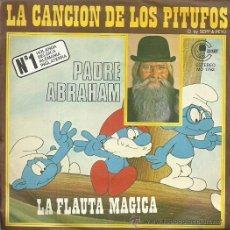 Discos de vinilo: PADRE ABRAHAM SINGLE. SELLO CANABY AÑO 1978 EDITADO EN ESPAÑA LA CANCION DE LOS PITUFOS. Lote 50562272