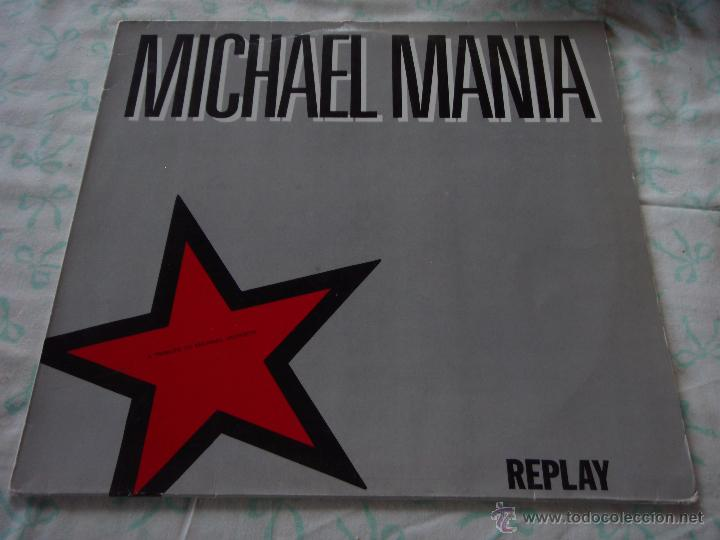 MICHAEL MANIA ''A TRIBUTE TO MICHAEL JACKSON'' ( REPLAY ) 1988-SCANDINAVIA MAXI45 VIRGIN (Música - Discos de Vinilo - Maxi Singles - Disco y Dance)