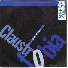 Discos de vinilo: CLAUSTROFOBIA SG NUEVOS MEDIOS 1989 ANDALUSI ERRANTE/ LA NANA DEL AMOR AMARGO PROMO INDIE NOISE POP . Lote 50562614