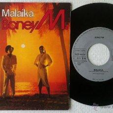 Discos de vinilo: SINGLE DE BONEY M. EDITADO EN ESPAÑA POR ARIOLA. TEMAS : MALAIKA. Lote 50563656