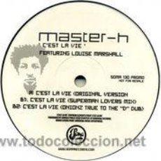 Discos de vinilo: MASTER H - C'EST LA VIE (MAXI, PROMO) . Lote 50566332