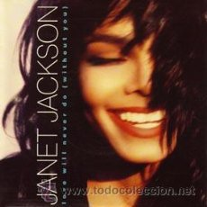 Discos de vinilo: JANET JACKSON - LOVE WILL NEVER DO - SF D1. Lote 50566456