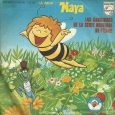 Discos de vinilo: LA ABEJA MAYA SINGLE SELLO PHILIPS AÑO 1977 EDITADO EN ESPAÑA. Lote 50566637