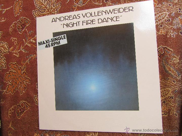 Discos de vinilo: ANDREAS VOLLENWEIDER- MAXI- SINGLE VINILO TITULO NIGHT FIRE DANCE- 2 TEMAS- ORIGINAL DEL 86 - NUEVO - Foto 1 - 50570270